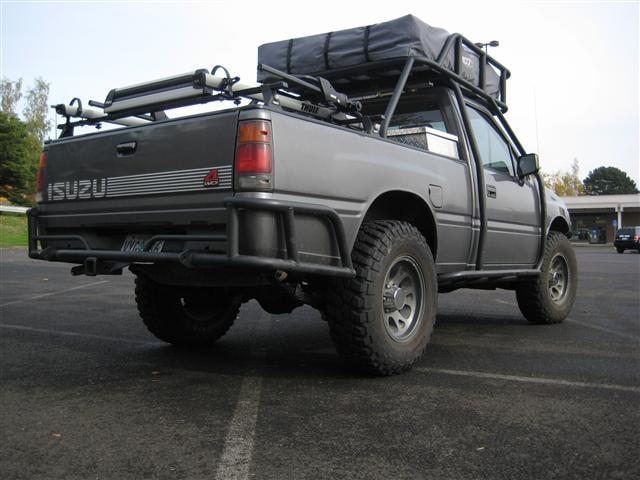 1992 Isuzu Pickup 4x4 V6 - ARB Lockers - Exo/Bumpers/Sliders