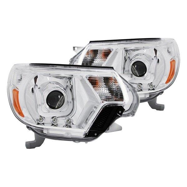 Custom designed U-Bar Projector Headlights for your Tacoma