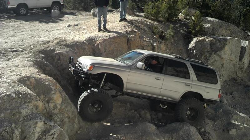 Addicted's 96' 4runner using TG Tacoma SAS kit | TTORA Forum