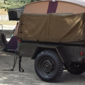 military M416 trailer