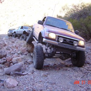Flexin Out at Martinez Canyon