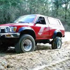 my toyota on 32s